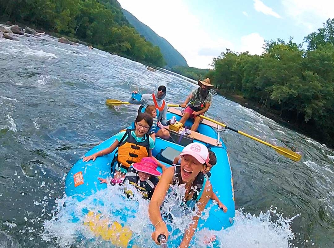 Rafting With Little Ones