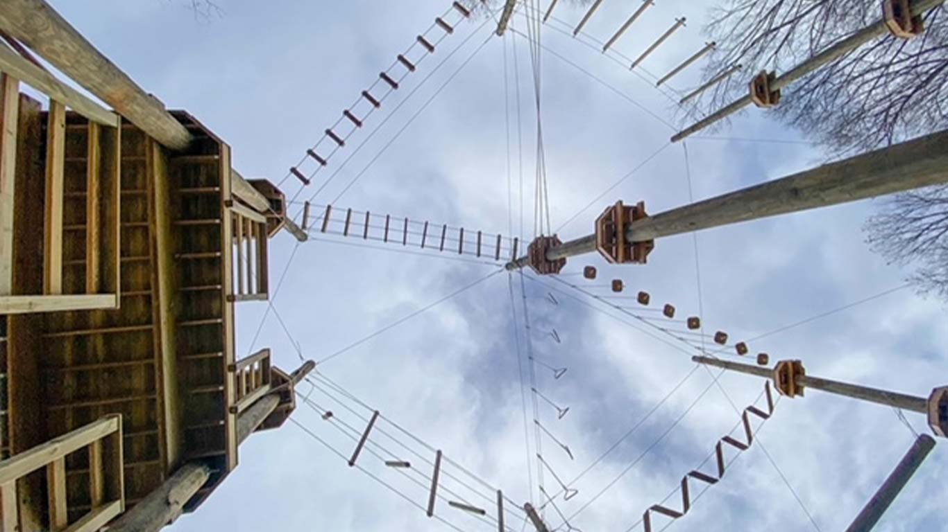 Ask About Our Aerial Park