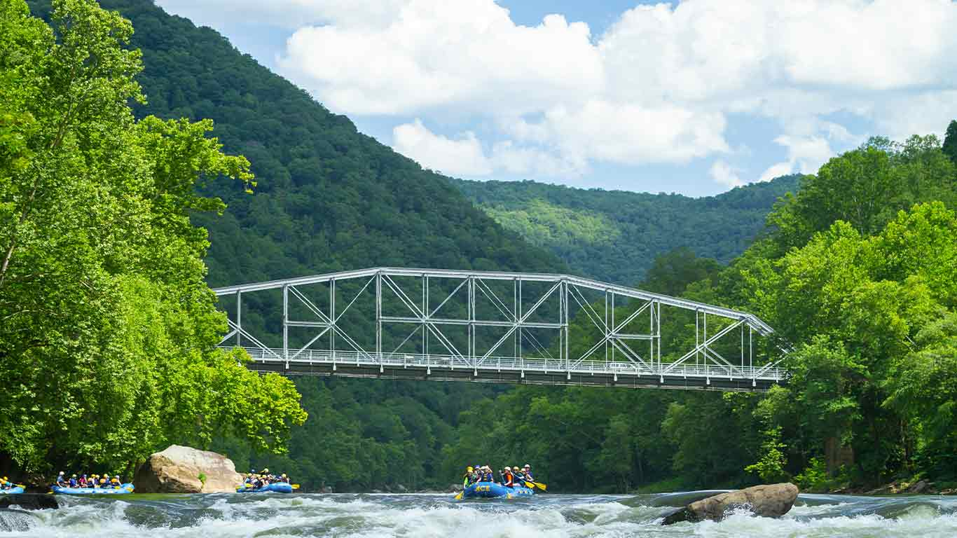 Group rafting Lower New with ACE Adventure Resort