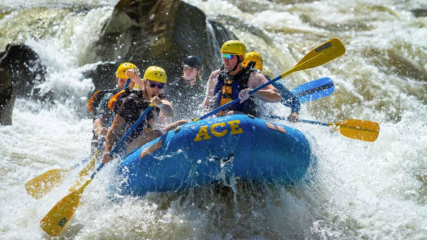 Lower Gauley rafting trip