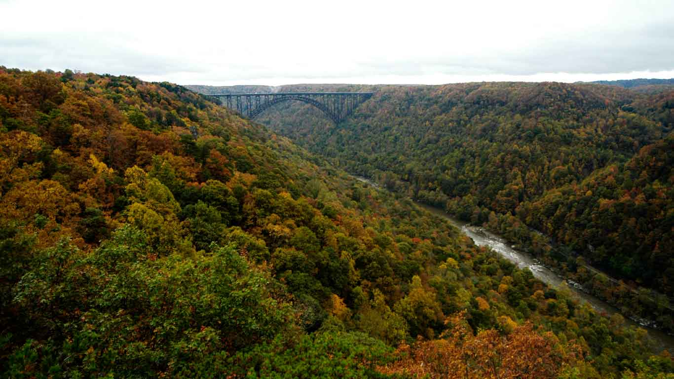 New River Gorge Bridge and New River Gorge National Park