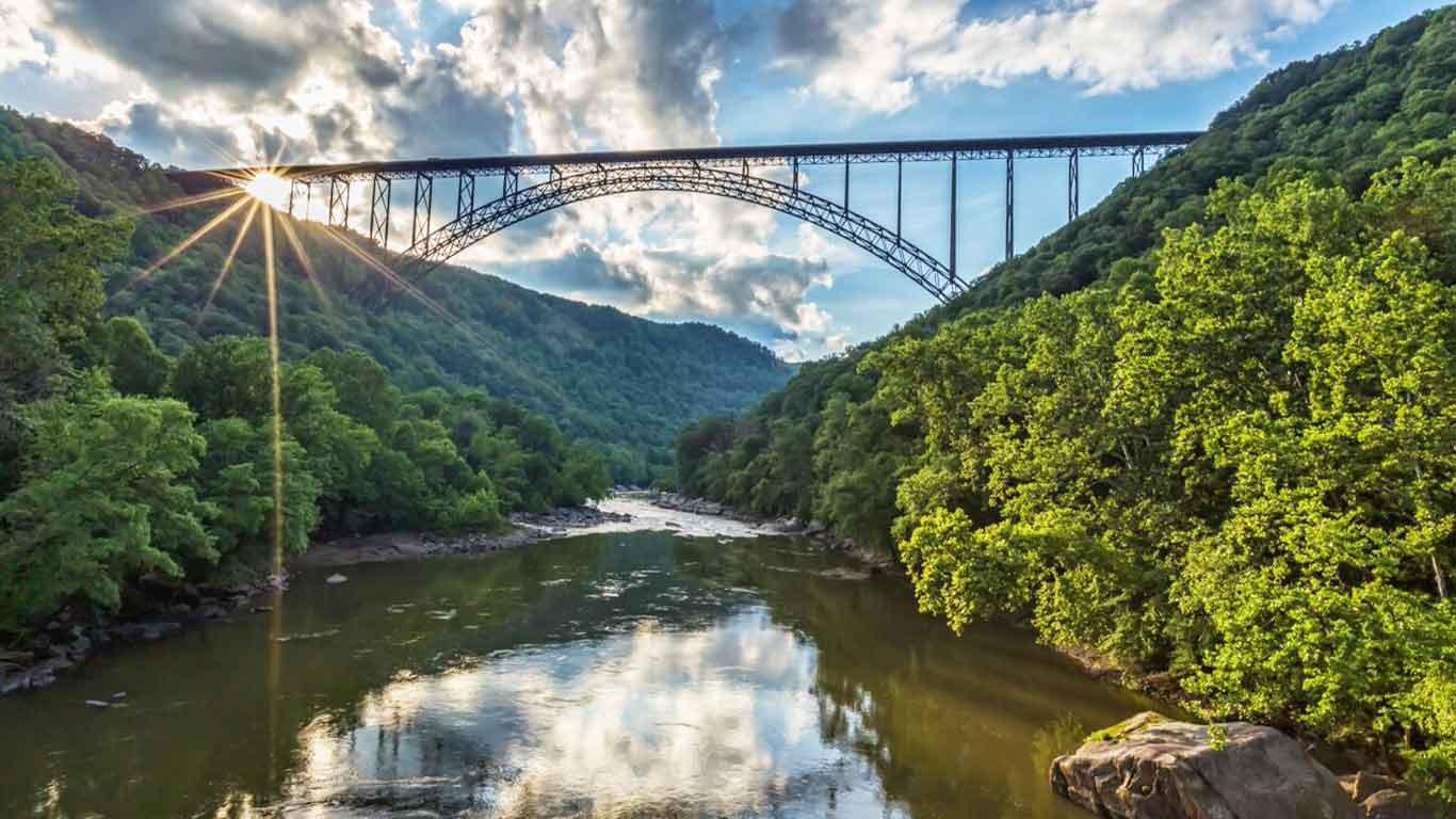 Photo of the New River Gorge Bridge