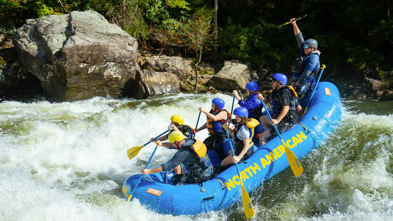 Gauley trip with ACE Adventure Resort