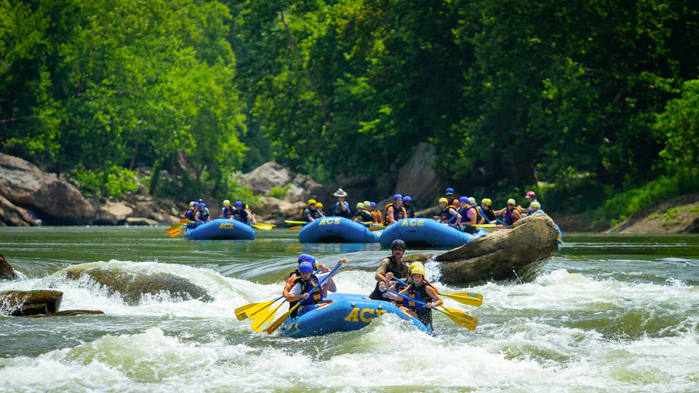 Rafting trip with ACE Adventure Resort