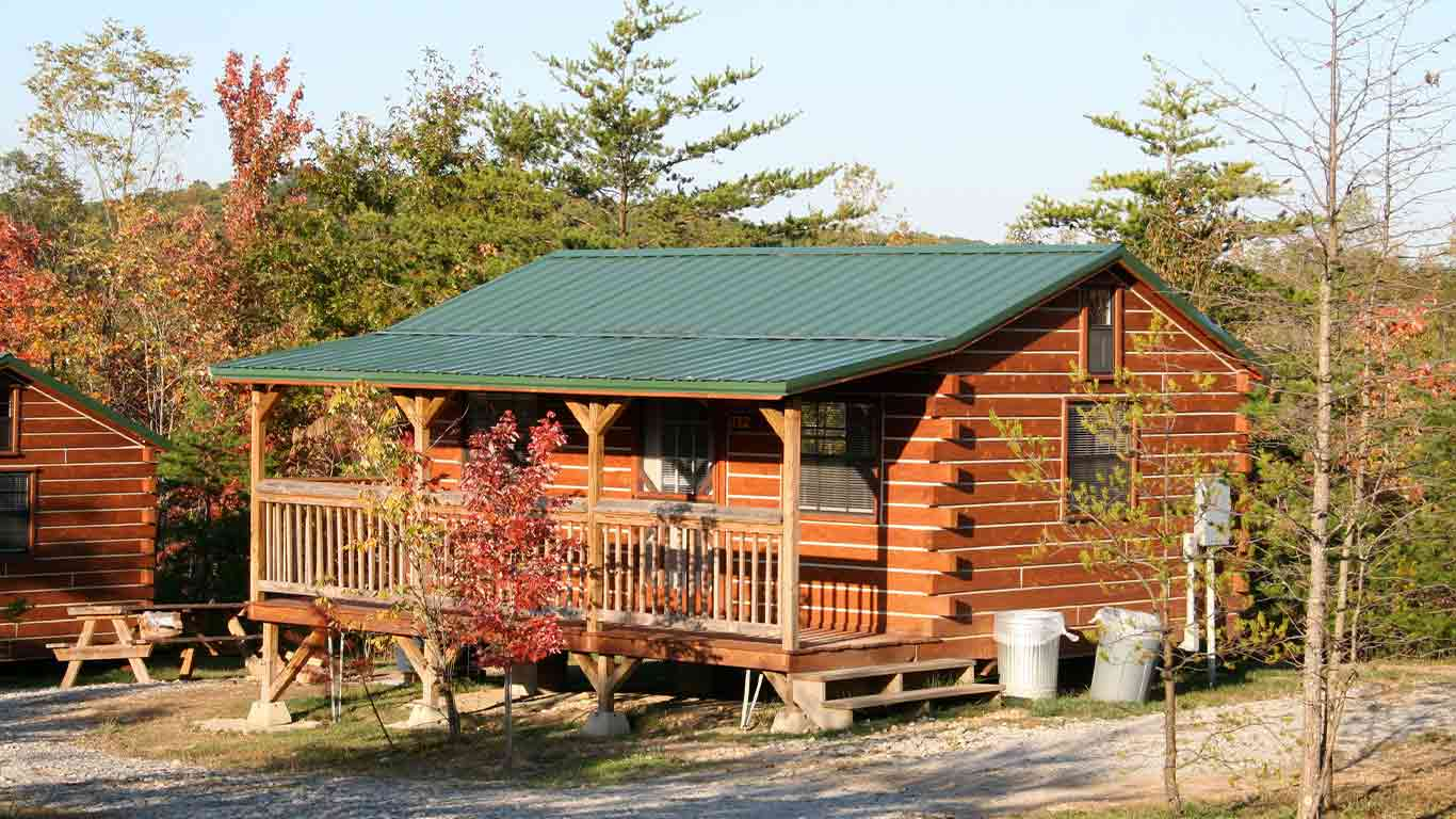 Rustic Cabin Adventure in the New River Gorge National Park