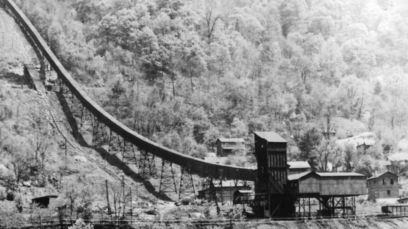 Nuttallburg conveyor