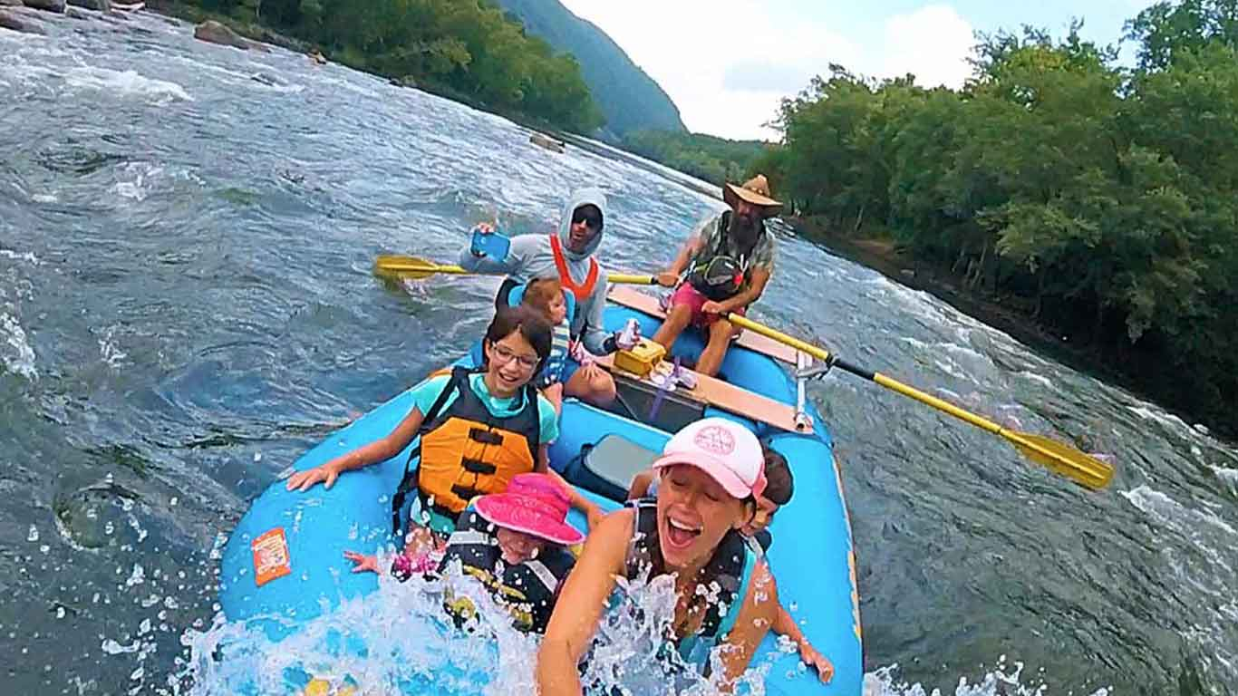 About Upper New River Gorge Rafting