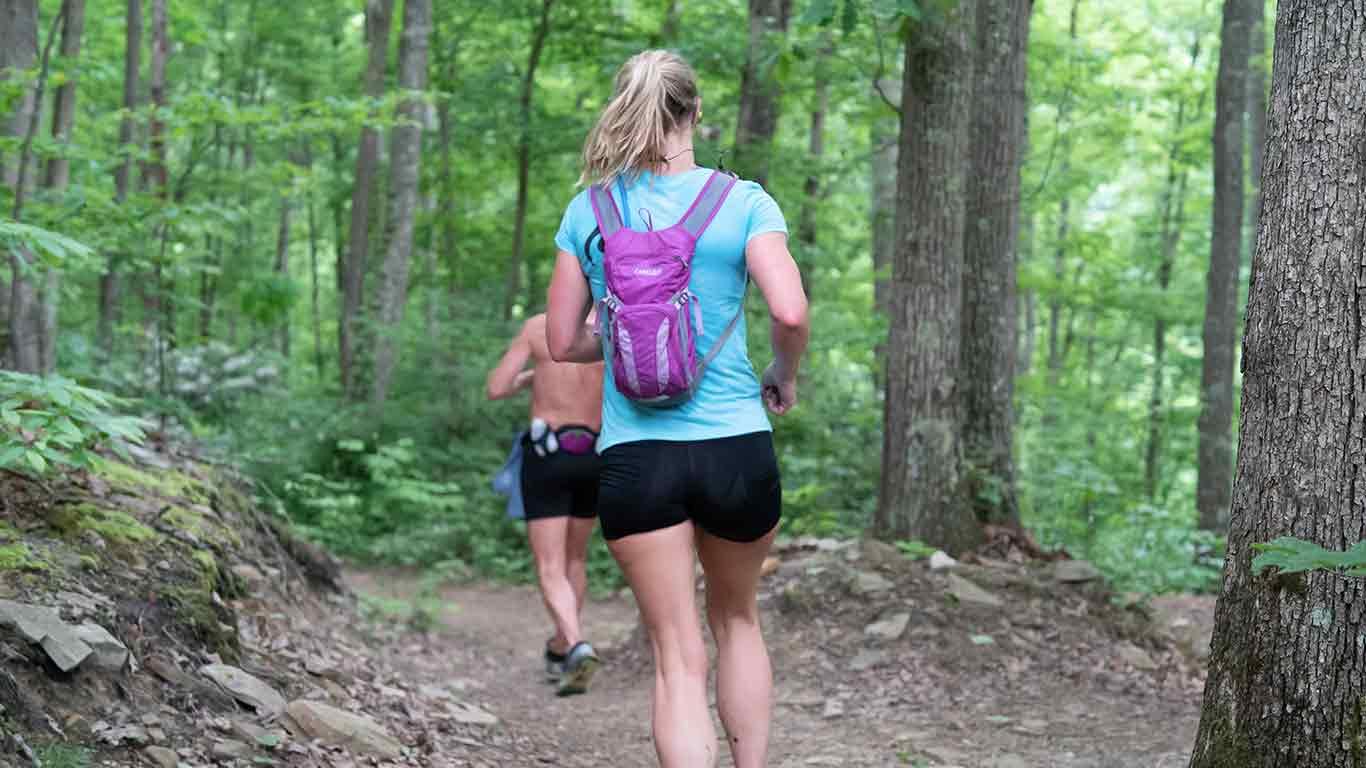 Trail runner at ACE Adventure Resort
