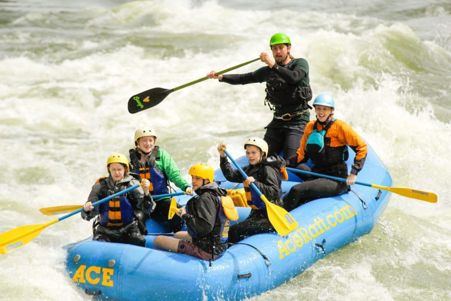 High Water Rafting