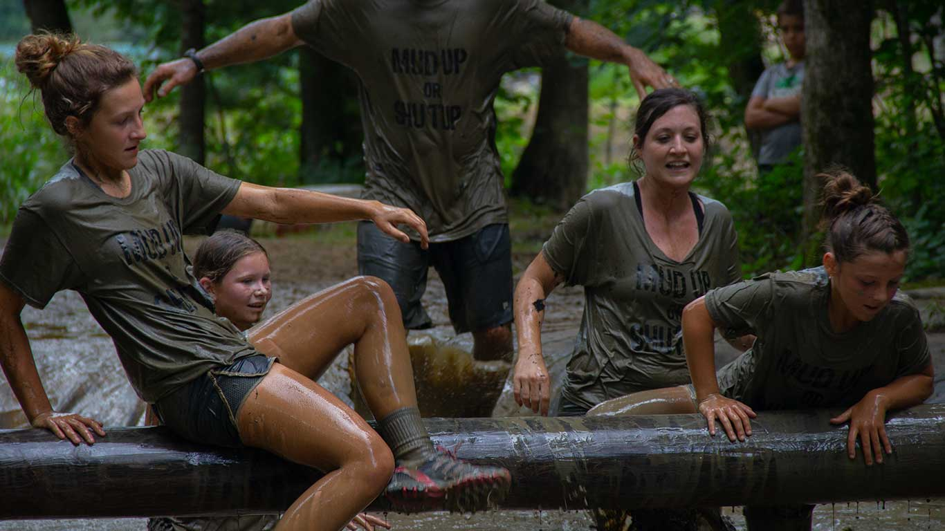 Group at the Gritty Chix Mud Run