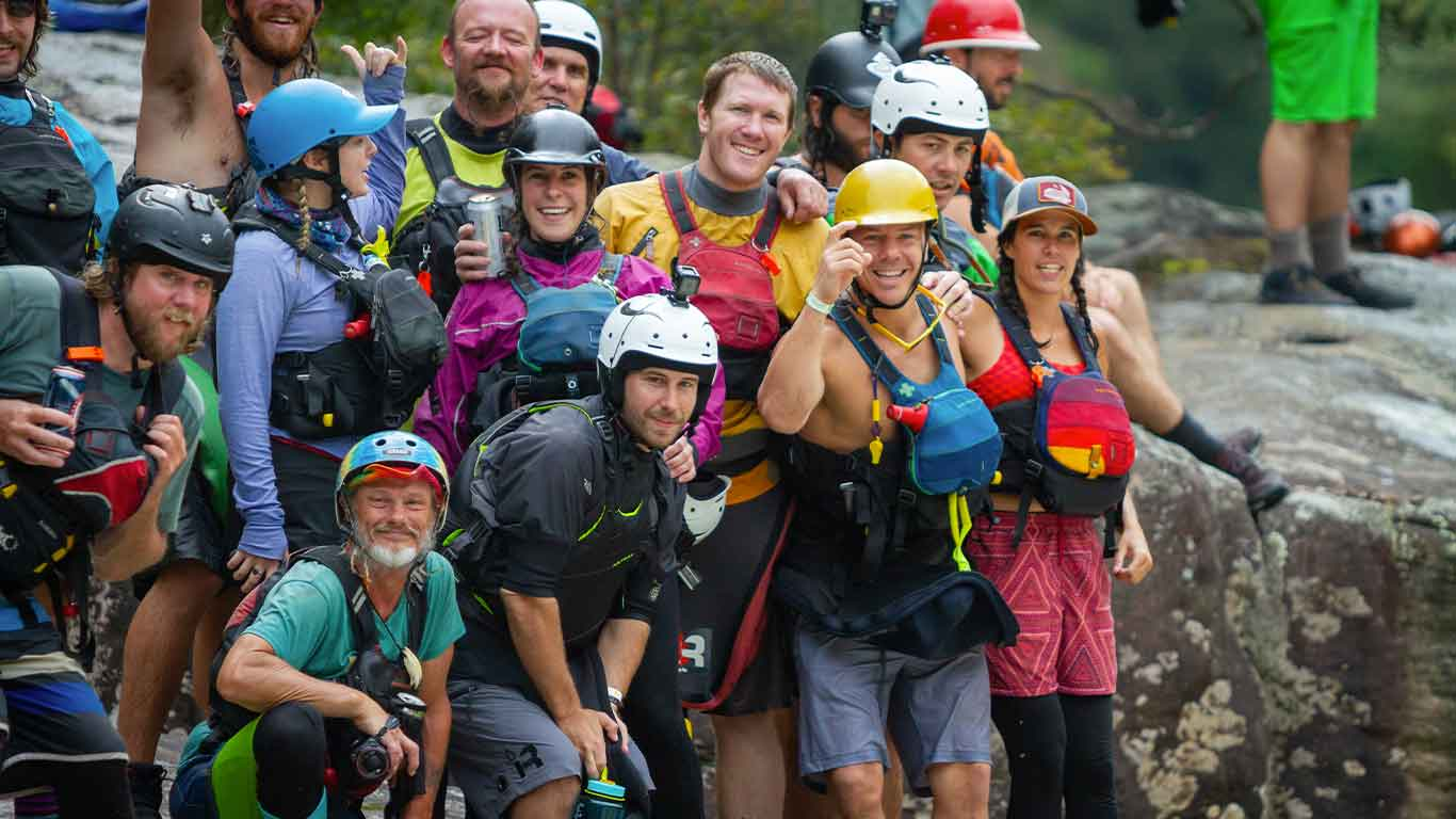 Paddlers for New River Gorge Festival