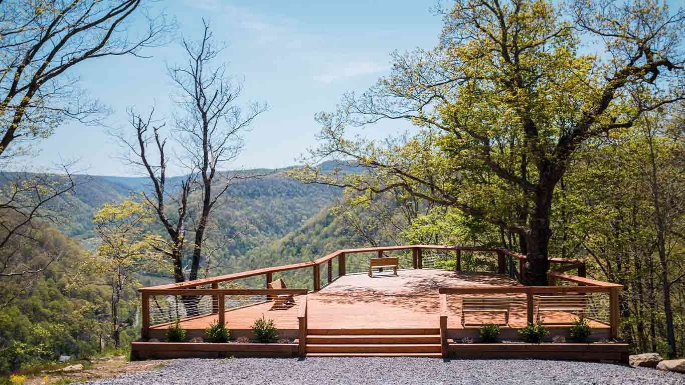 Concho deck at ACE Adventure Resort