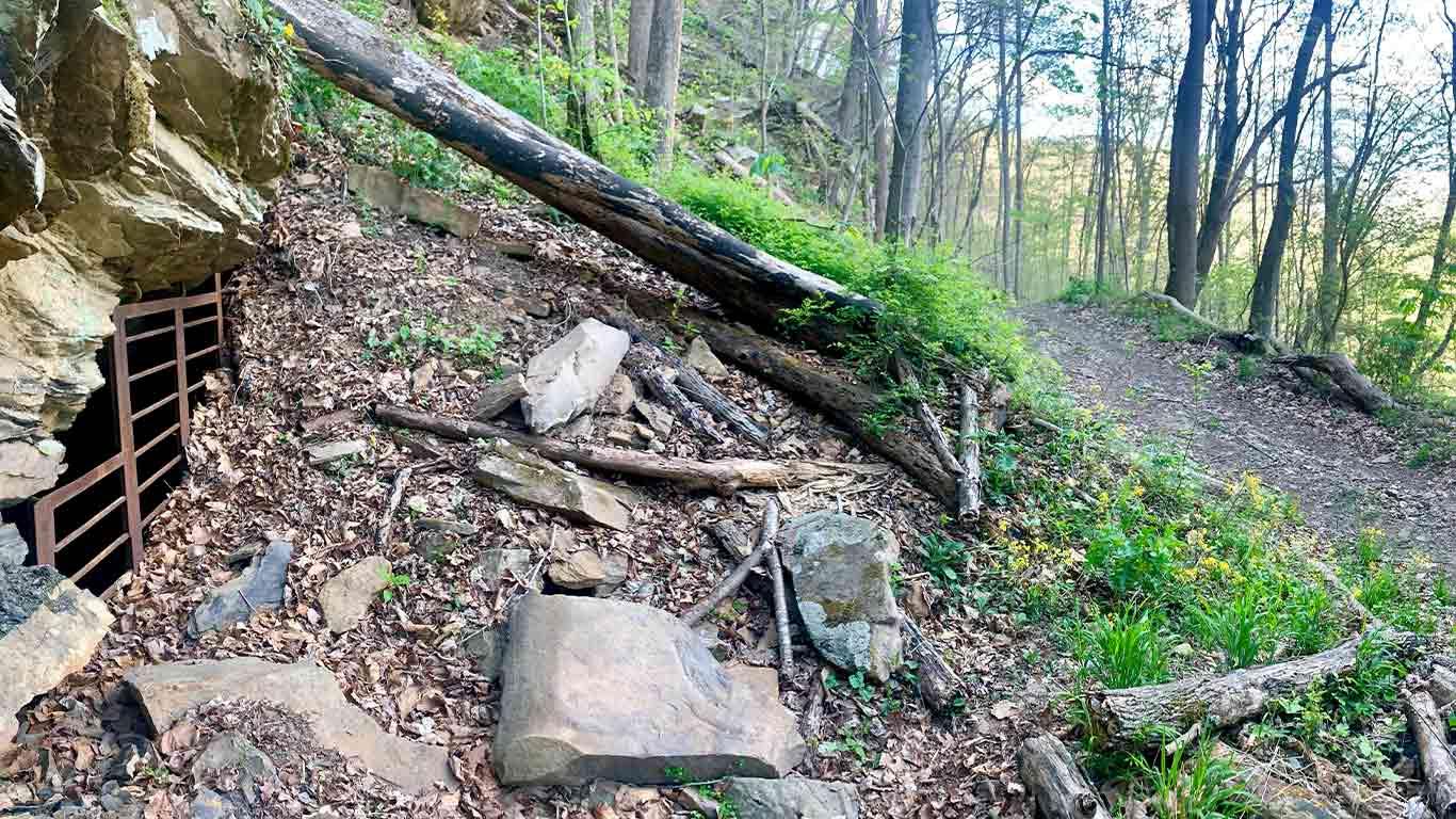 Trail mine