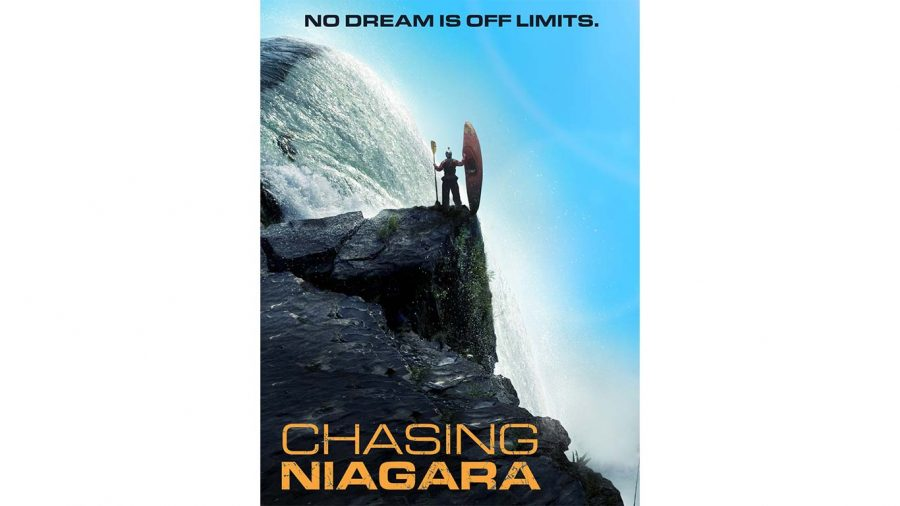 Chasing Niagara film that will be playing on Labor Day Weekend