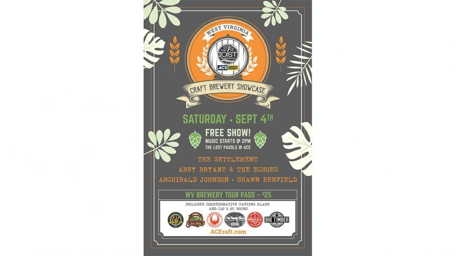 Craft brewery show poster